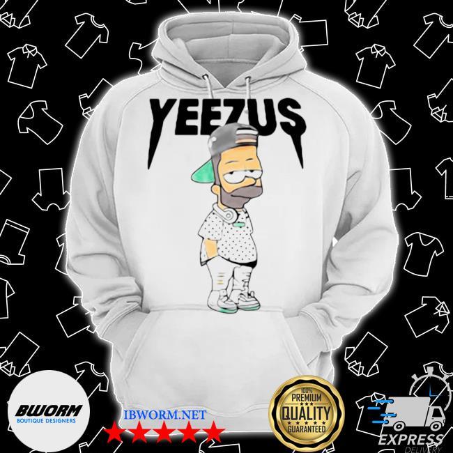 Yeezus bart simpson s Classic Hoodie