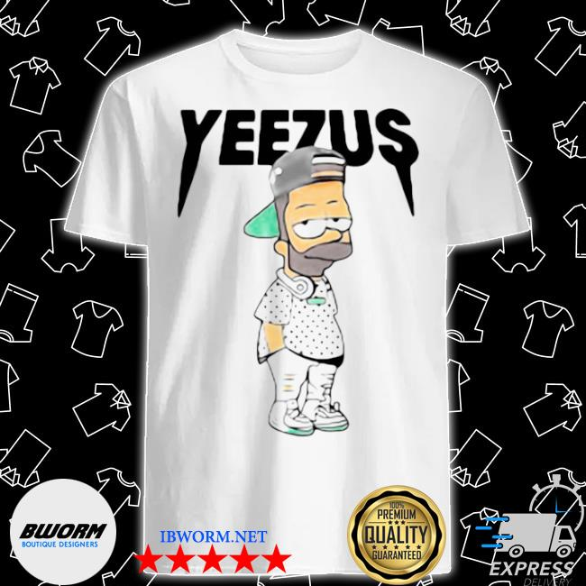 Yeezus bart simpson shirt