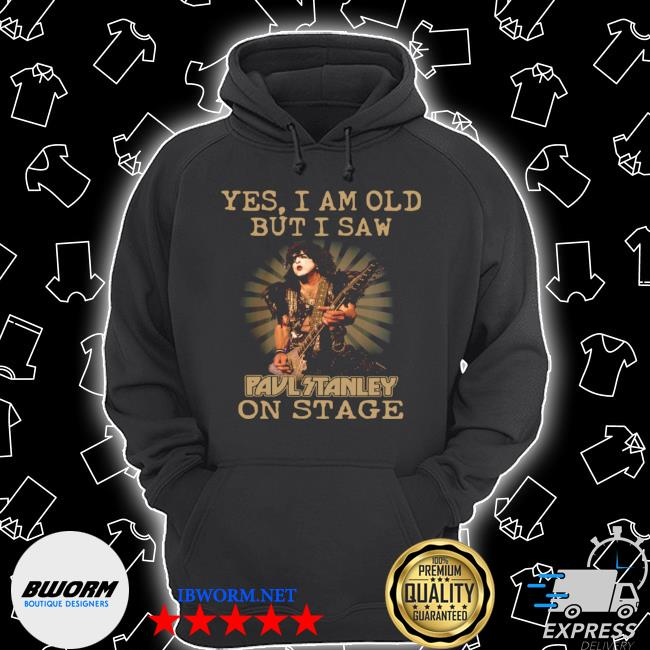 Yes I am old but I saw pavlitanley on stage s Unisex Hoodie